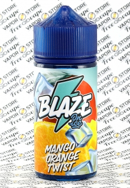 Blaze On Ice - Mango Orange Twist